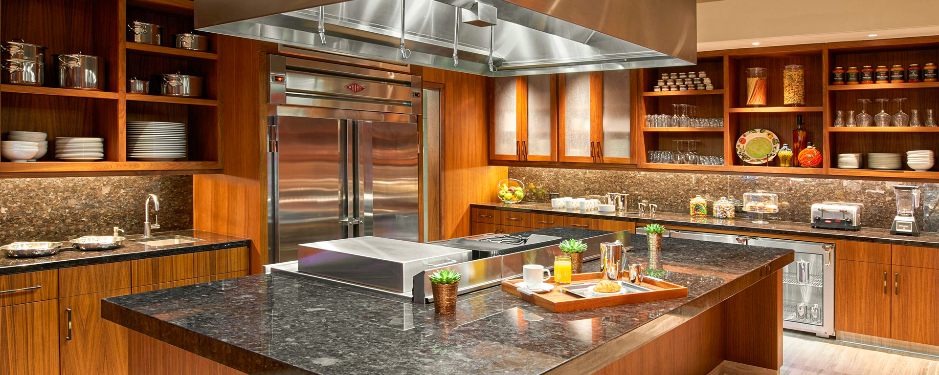 The Clement Palo Alto The kitchen